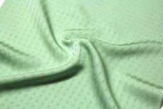 画像4: ■【訳あり】「日本の絹:丹後ちりめん生地使用」 別誂え 薄萌葱色 地紋 正絹 色無地■ (4)
