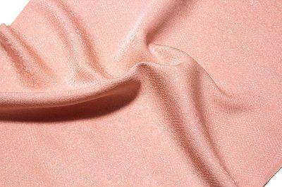 画像3: ■「日本の絹:丹後ちりめん生地使用」 華やかな 虹色系 地紋 堅牢染 正絹 色無地■