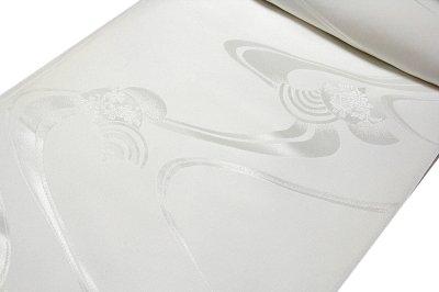 画像2: ■「日本の絹:丹後ちりめん生地使用」 流水文様 日本の美-京浪漫 SUNSILK 白地 礼装用 正絹 高級 長襦袢■
