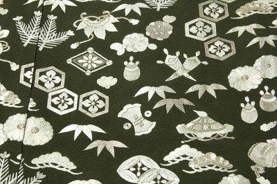 画像2: ■【訳あり】「中国伝統工芸:蘇州刺繍」 銀彩加工 宝尽くし 正絹 色留袖■