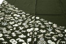 画像7: ■【訳あり】「中国伝統工芸:蘇州刺繍」 銀彩加工 宝尽くし 正絹 色留袖■ (7)