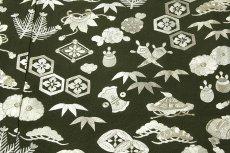 画像6: ■【訳あり】「中国伝統工芸:蘇州刺繍」 銀彩加工 宝尽くし 正絹 色留袖■ (6)