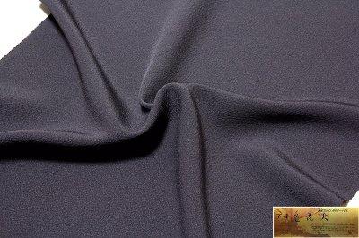 画像3: ■「万葉:色花火」 日本の絹 丹後ちりめん生地使用 褐色系 4丈 反物 正絹 色無地■