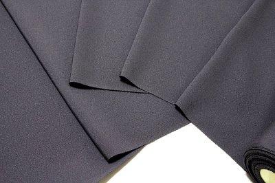 画像2: ■「万葉:色花火」 日本の絹 丹後ちりめん生地使用 褐色系 4丈 反物 正絹 色無地■
