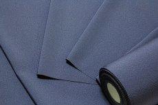 画像3: ■「万葉:色花火」 日本の絹 丹後ちりめん生地使用 紺鼠色系 4丈 反物 正絹 色無地■ (3)