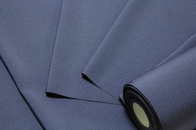 画像2: ■「万葉:色花火」 日本の絹 丹後ちりめん生地使用 紺鼠色系 4丈 反物 正絹 色無地■