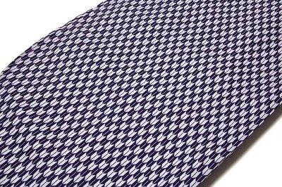 画像1: ■「新品:仕立て上がり:二尺袖」 卒業式 身長:158cm-168cmまでのお方に最適 矢羽根柄 濃紺色に白色 洗える着物■