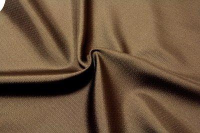 画像2: ■「キングサイズ:米沢織」 【東匠猪俣謹製:優雅】 御召生地 黄枯茶色 男物 反物 最高級 正絹 着物■