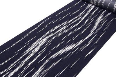 画像1: ■「高級ちりめん使用」 単衣にもおすすめ 粋でオシャレな 反物 正絹 小紋■