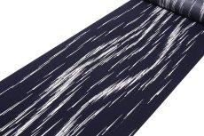 画像2: ■「高級ちりめん使用」 単衣にもおすすめ 粋でオシャレな 反物 正絹 小紋■ (2)