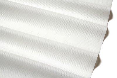 画像2: ■「東レシルック-丸洗いができる」 夏物 白色 平絽 反物 ポリエステル 長襦袢■