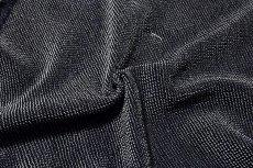 画像2: ■【訳あり】「絹のダイヤモンド」 【幅広タイプ】 藍墨茶色 男物 総絞り 正絹 兵児帯■ (2)