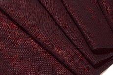 画像2: ■【訳あり】夏物 単衣兼用 羅 飛び柄 赤色 黒色 羅織コート ちりよけコート 正絹 羽尺 羽織 和装コート■ (2)