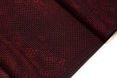 画像3: ■【訳あり】夏物 単衣兼用 羅 飛び柄 赤色 黒色 羅織コート ちりよけコート 正絹 羽尺 羽織 和装コート■ (3)
