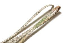 画像4: ■「正絹 夏物 絽」 可愛らしい オシャレ 地模様入り 帯揚げ 平組 帯締め セット■ (4)