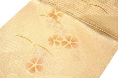 画像1: ■「正絹 夏物 絽」 可愛らしい オシャレ 地模様入り 帯揚げ 平組 帯締め セット■