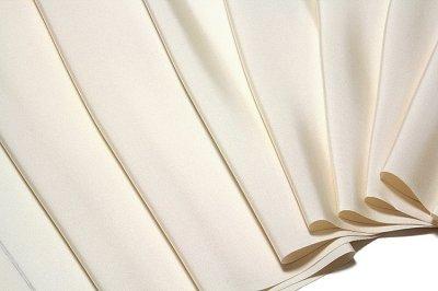 画像1: ■「お好みの色に染める-白生地」 五泉 日本の絹使用 白色 羽二重 キングサイズ 羽織にも 高級 反物 正絹 男物 無地 着物■
