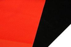 画像4: ■「伝承 紅三段黒」 五泉 日本の絹使用 浜ちりめん生地 石持ち 黒色 夏物 駒絽 反物 正絹 最高級 喪服■ (4)