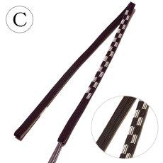画像5: ■「平組 帯締め:絹100%」 【全4種】 市松模様 和装小物 着物 礼装 着付け小物 正絹 帯〆■ (5)