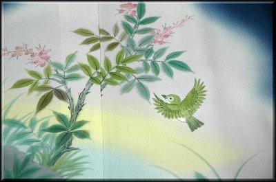 画像3: ■手縫い仕立て付き ぬれ描友禅作家 「高檀元」作 訪問着■