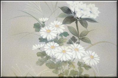 画像3: (訳ありアウトレット品)■フルオーダー手縫い仕立て付き 手描き 銀彩金彩加工 付下げ■