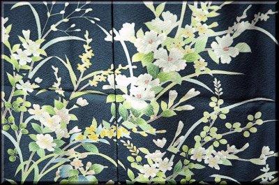 画像3: ■手縫い仕立て付き!本加賀友禅 「南克治」作 四季の花 訪問着■