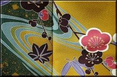 画像3: ■仕立て上がり 正絹 手描き 丹後ちりめん 振袖■ (3)