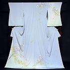 [和楽屋] ◆手縫い お仕立込み! 本加賀友禅 「奥泉可愛」作 【辻ヶ花 蘭】 訪問着◆
