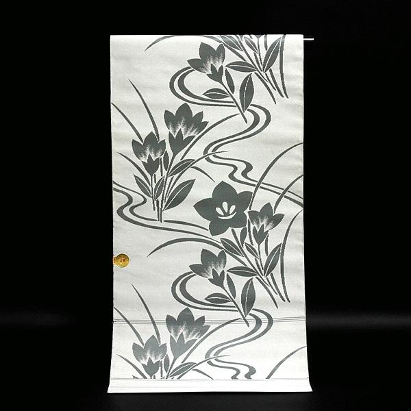 画像1: (訳ありアウトレット品)■「法事」 京都西陣織 「中一織物KK謹製」 正絹 九寸 名古屋帯■ (1)