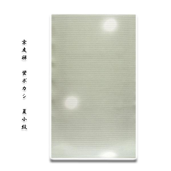 画像1: ■「京友禅-丹後ちりめん生地」 蛍ボカシ 夏物 絽 正絹 小紋■ (1)