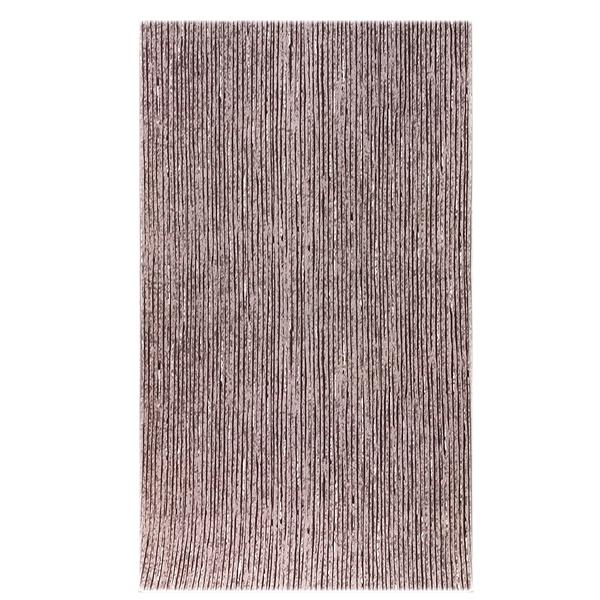 画像1: ■【訳あり】粋な縞柄 江戸鼠色 高級ちりめん使用 オシャレ 正絹 小紋■ (1)